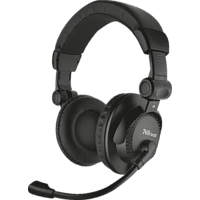 TRUST 21658 Como Headset Schwarz