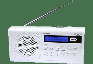 XORO DAB 100 Radio, DAB+, FM, DAB, Weiß