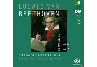 Stefan & Beethoven Orchester Bonn Blunier - Sinfonie 4 und 7  - (SACD Hybrid)