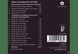 Edna Stern - Klaviersonate 9/12 Etüden  - (CD)
