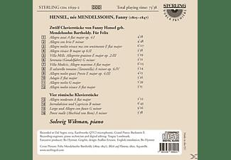 Solveig Wikman - Klavierstücke  - (CD)