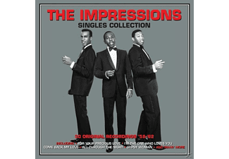 The Impressions - Singles Collection  - (CD)