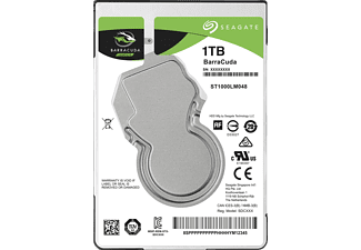 SEAGATE BarraCuda Festplatte Bulk, 1 TB HDD SATA 6 Gbps, 2,5 Zoll, intern