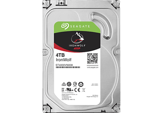 SEAGATE IRONWOLF 4TB - Festplatte (4 TB, Silber)