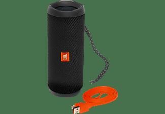 Altavoz inalámbrico - JBL Flip 4, 16W, Bluetooth, Negro