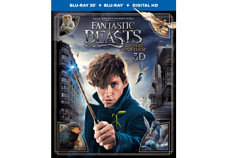 Fantastic Beasts And Where To Find Them (3D) | Blu-ray