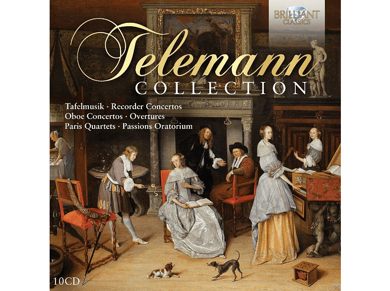 VARIOUS - Telemann-Collection [CD]