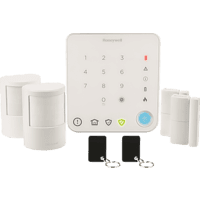 HONEYWELL HS330S Funk-Alarm-System, Weiß