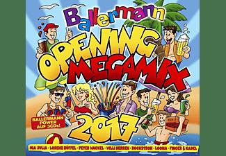 VARIOUS - Ballermann Opening Megamix 2017  - (CD)