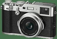 FUJIFILM X100F Digitalkamera Silber, 24.3 Megapixel, LCD, WLAN