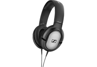 SENNHEISER HD 206, Over-ear Kopfhörer Schwarz/Silber