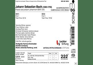 Stuttgarter Hymnus-chorknabern - Johannes-Passion  - (SACD Hybrid)