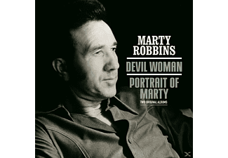 Marty Robbins - Devil Woman/Portrait Of Mary - (CD)