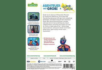 Sesamstrasse: Abenteuer mit Grobi & Supergrobi DVD