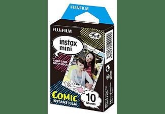 Película fotográfica - Fujifilm ColorFilm Instax Mini Comic, 10 hojas