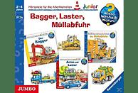 Wieso? Weshalb? Warum? Junior/Various - Bagger,Laster,Müllabfuhr (Box) - (CD)