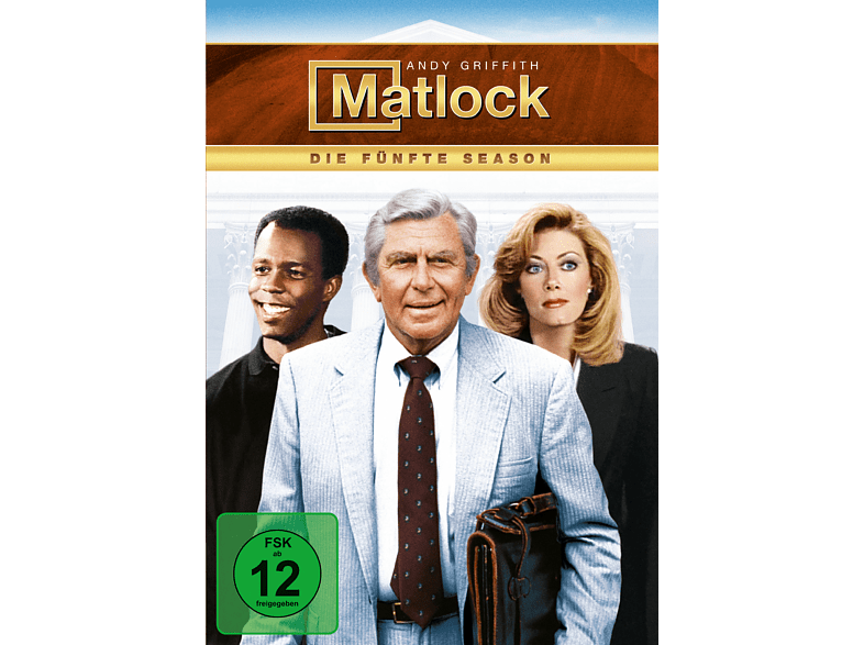 Matlock - Staffel 5 [DVD]