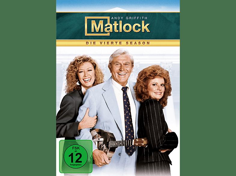 Matlock - Staffel 4 [DVD]