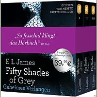 Fifty Shades of Grey  - Die Gesamtausgabe (Teil 1-3) - (MP3-CD)
