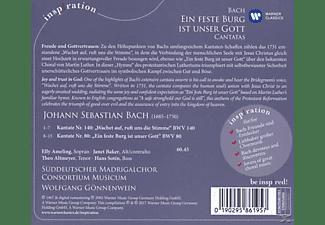 VARIOUS - Ein' Feste Burg Ist Unser Gott-Bach Kantaten  - (CD)