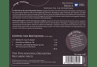 Riccardo Muti, The Philadelphia Orchestra - Eroica-Sinfonie 3/Ouvertüren  - (CD)