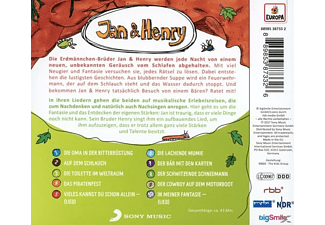 Jan & Henry - 002/8 Rätsel+2 Lieder  - (CD)