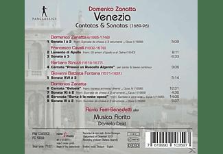 Daniela Dolci, Flavio Ferri-Benedetti, VARIOUS, Musica Fiorita - Venezia-Kantaten und Sonaten  - (CD)