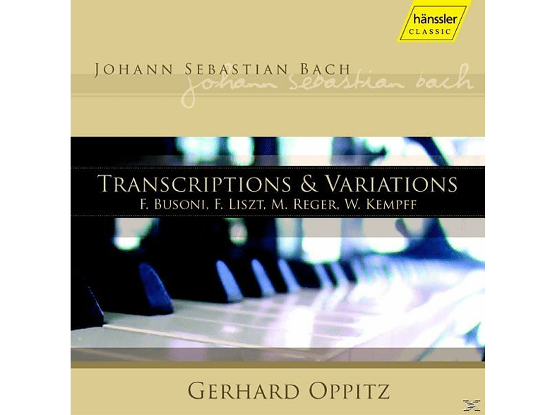 Gerhard Oppitz - Transkriptionen + Variationen [CD]