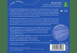 Alexander/obt Lazarev - Russische Schätze (Russische Opernchöre)  - (CD)