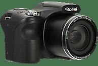 ROLLEI Powerflex 350 Bridgekamera Schwarz, 16 Megapixel, 35x opt. Zoom, TFT-Farbdisplay, WLAN