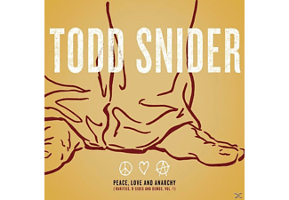 Todd Snider - Peace, Love And Anarchy (Rarities, B-Sides And Demos, Vol 1)  - (CD)