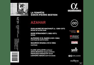 Simon-pierre Bestion, La Tempête - Azahar-Messe De Notre Dame/Cantigas  - (CD)