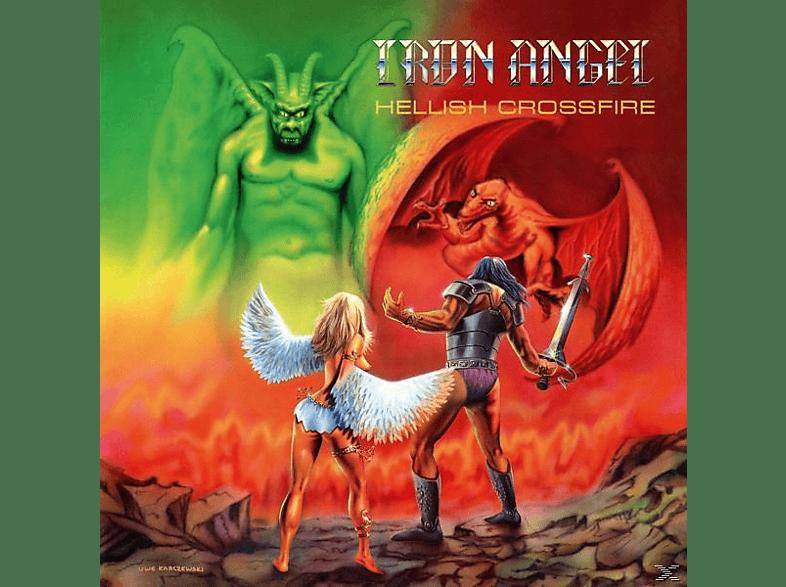Iron Angel - Hellish Crossfire (Green Vinyl/Poster) [Vinyl]