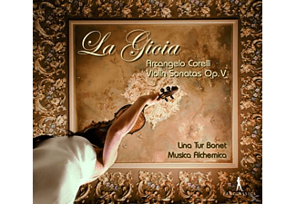 Musica Alchemica, VARIOUS, Lina Tur Bonet - Violinsonaten Op.V  - (CD)