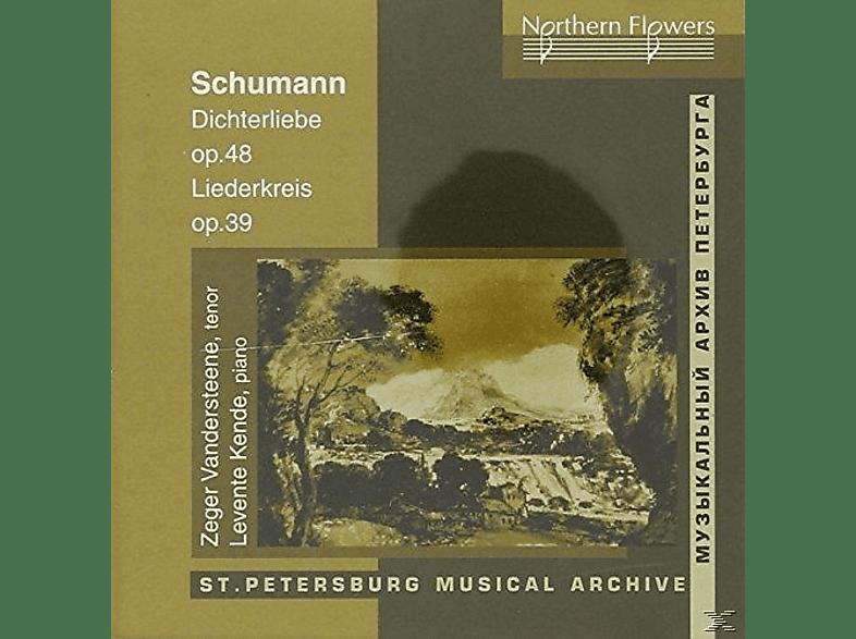 Zeger Vandersteene, Levente Kende - Dichterlibe. Liederkreis Op.39 [CD]