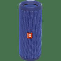 JBL Flip 4 Bluetooth Lautsprecher, Blau, Wasserfest