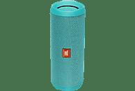 JBL Flip 4 Bluetooth Lautsprecher, Teal, Wasserfest