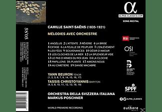 Tassis Christoyannis, Orchestra Della Svizzera Italiana, Yann Beuron - Melodies Avec Orchestre  - (CD)