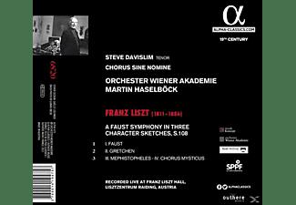 Orchester Wiener Akademie & Chorus Sine Nomine, Davislim Steve - Faust Sinfonie (Live-Aufn.)  - (CD)