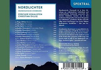 Christian/zürcher Vokalisten Dillig - Nordlichter-Skandinavische Chormusik  - (CD)