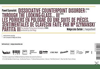 Malgorzata/nagy/the Janacek Po Sarbak - Dissociative Counterpoint Disorder  - (CD)