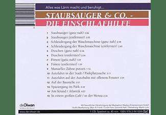 VARIOUS - Staubsauger & Co.-Die Einschlafhilfe  - (CD)