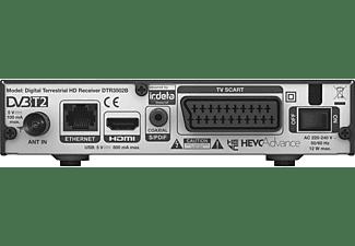 PHILIPS DTR3502B DVB-T2 HD Receiver (HDTV, PVR-Funktion=optional, DVB-T2 HD, Schwarz)