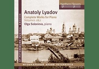 Olga Soloviova -  Die Klavierwerke Vol.1 & 2   - (CD)