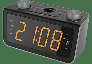 SOUNDMASTER FUR 5005 Uhrenradio, Analog, FM, Schwarz