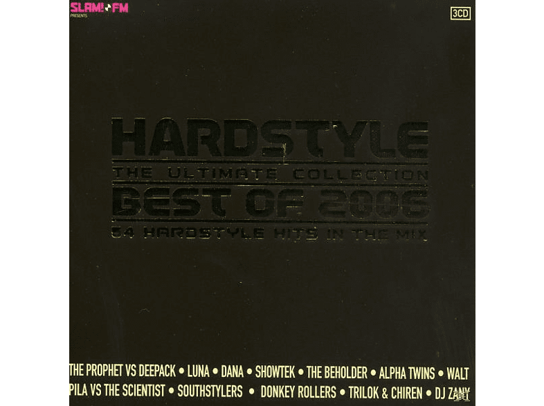 VARIOUS - hardstyle-the ultimate collection 2006 [CD]