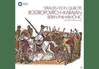 Mstislaw/karaja Rostropowitsch - DON QUIXOTE  - (CD)