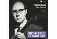 Mstislaw/rozhdestvensky/mopo Rostropowitsch - CELLOKONZERTE-THE RUSSIAN YEARS [CD]