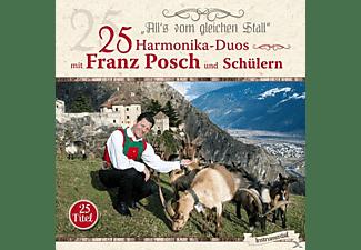 Diverse Interpreten - 25 HARMONIKA-DUOS MIT FRANZ POSCH/SCHÜLER  - (CD)