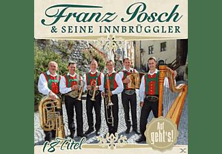Franz & Seine Innbrüggler Posch - AUF GEHT S!  - (CD)